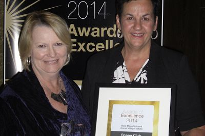 Ocean Club Resort Wins 2014 Award of Excellence