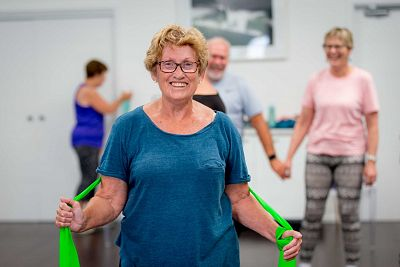 Activity and the over 50s