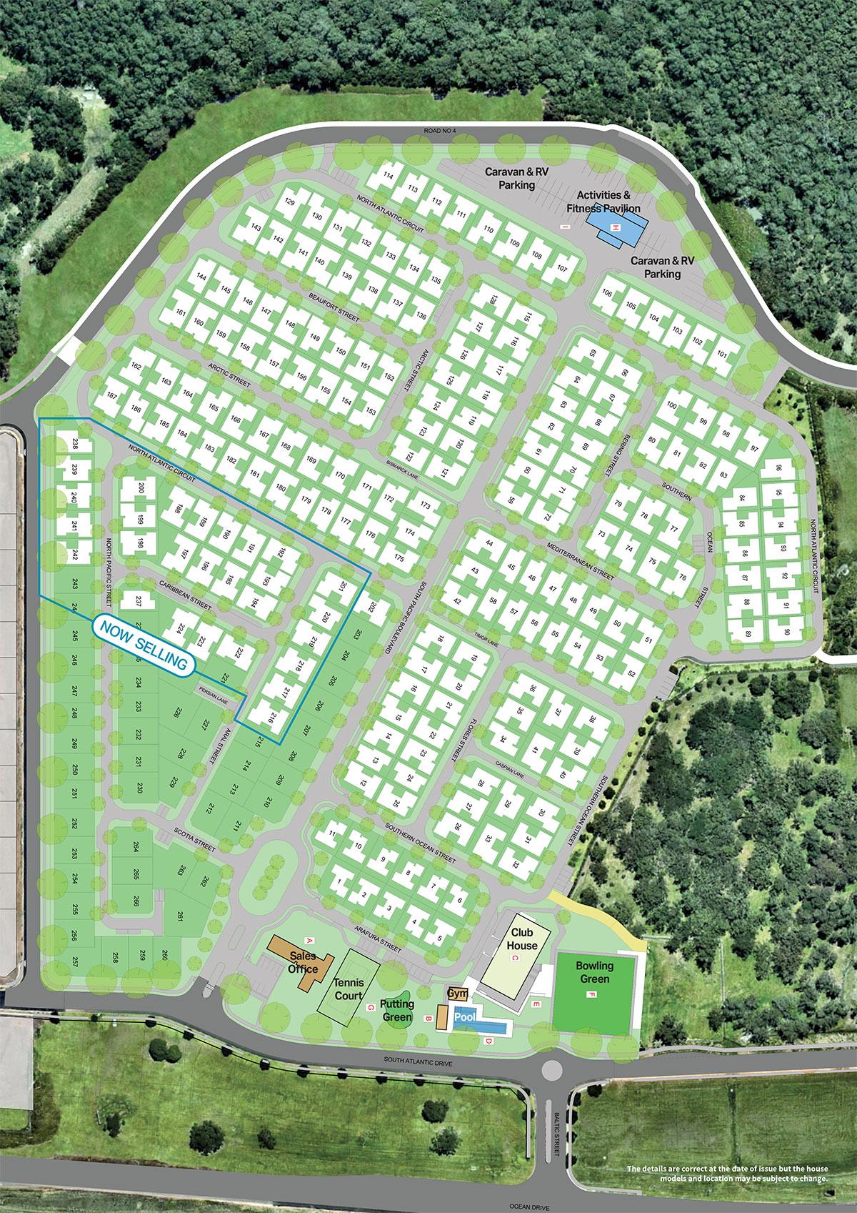Ocean Club Resort Site Plan