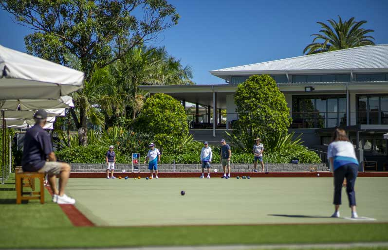 gated communities bowls club